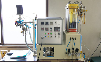 2液性ウレタン樹脂ポッティング装置